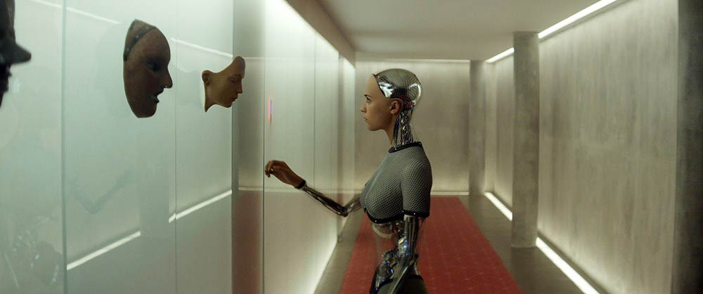 EX MACHINA, Alicia Vikander, 2015. ©A24